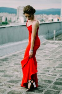 Robe rouge quelle couleur