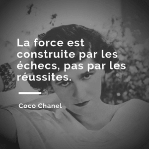 Citation coco chanel 1