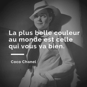 Citation coco chanel 3