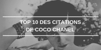 citation coco chanel 1er