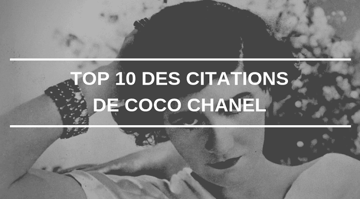 Citation Coco Chanel Notre Top 10