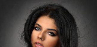 Une femme ronde et belle