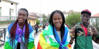 Manifestation lors de la journée de la femme au Niger