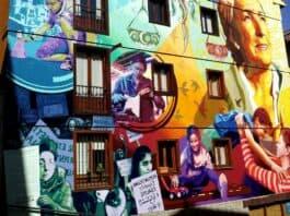 graffiti pour la journée de la femme