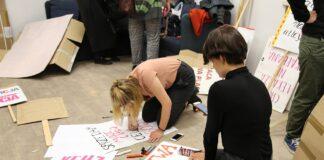 préparation de la journée de la femme à Rennes